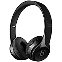 Beats by Dr. Dre Solo3 Wireless On-Ear Headphones - Gloss Black - Stereo - Gloss Black - Mini-phone - Wired/Wireless - Bluetooth - Over-the-head - Binaural - Circumaural (Certified Refurbished)