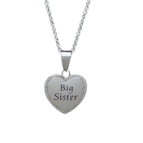 Sister Stainless Steel Necklace Diameter