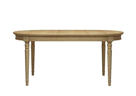 Eaton Mesa de Comedor Ovalada Extensible con Diseño de Mariposa ...
