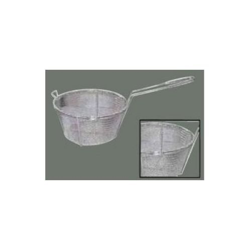 Winco FBRS-9, 9.5-Inch Wire 6-Mesh Fry Basket with Handle, Heavy-Duty Deep Fryer Basket