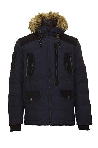 with Look G G Down Men DX navy Winter Jacket Hood Goku Casual dark A I Men's rr7fqzw