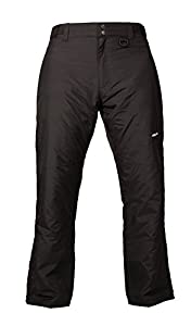 Arctix Men's Essential Snow Pants, Black, Medium/Regular