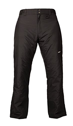 Arctix Men's Essential Snow Pants, Black, Medium/Tall