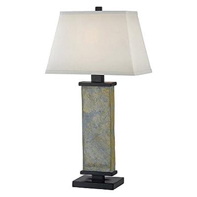 Kenroy Home Hanover Table Lamp - Natural Slate