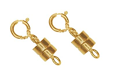 2 Gold Filled Converters Magnetic Clasps (2 sets) by uGems