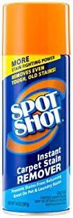 Spot Shot Instant Carpet Stain Remover Aerosol 14 OZ