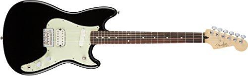 Fender Duo-Sonic HS - Black, Rosewood ()