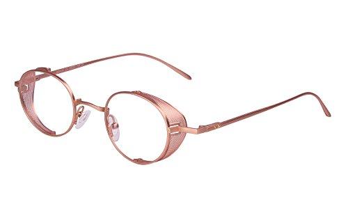 05179698ea68  해외 Agstum 레트로 고글 금속 프레임 옵티컬 처방 안경 Rx Agstum Retro Goggles