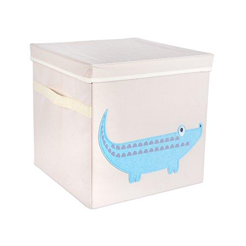 dii-nursery-storage-bins-for-toys-clothing-books-cube-organizers-13-x-13-x-13-crocodile