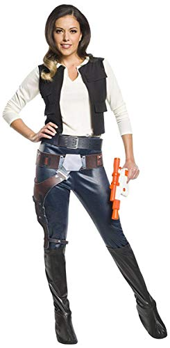 Rubie's Women's Star Wars Classic Han Solo Adult Costume, Large]()