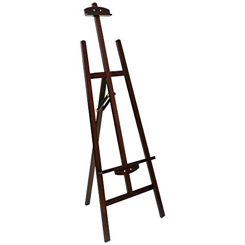 Aibecy Durable Art Artist Wooden Easel Drawing Stand Pine