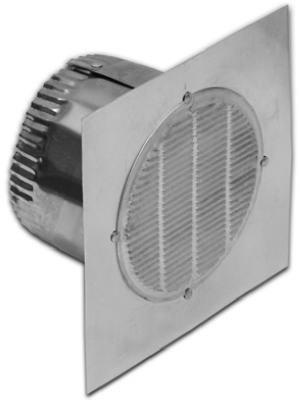 Lambro #141 3'' Aluminum Bath Fan Vent