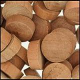 WIDGETCO 3/4'' Cherry Wood Plugs, End Grain