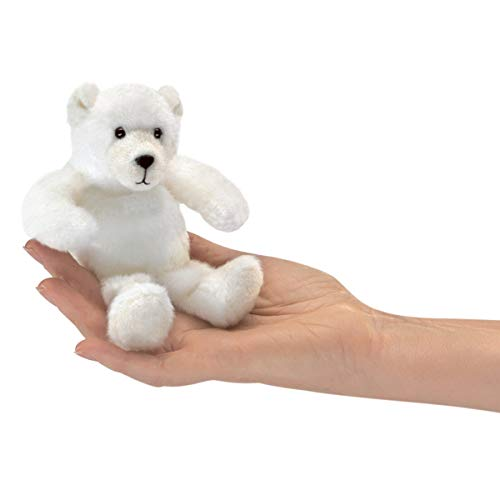 (Folkmanis Mini Polar Bear Finger Puppet)