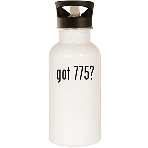 (got 775? - Stainless Steel 20oz Road Ready Water Bottle, White)