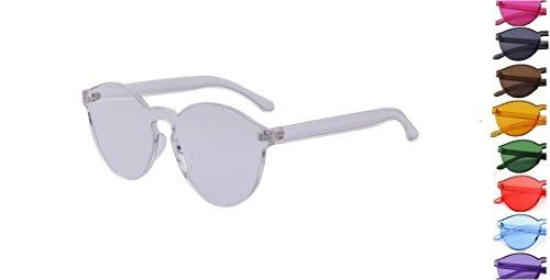 Retro Clear Fashion Sunglasses - Sunglasses Nyc