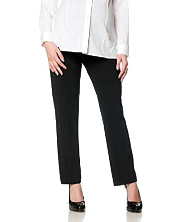 Motherhood Petite Secret Fit Belly Bi-stretch Suiting Straight Leg Maternity Pants