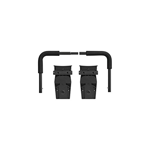 (Baby Jogger Britax/BOB CSA Click Connect Car Seat Adapter, BJ Black)