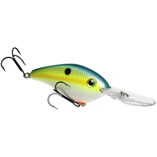 Strike King Pro-MDL Silent Series 6XD CB Bait (Chart. Sexy Shad.75-Ounce)