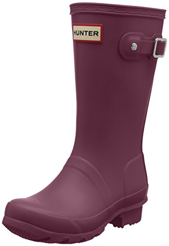 Hunter Kids Unisex Original Kids' Classic Rain Boot (Little Kid/Big Kid) Violet 3 M US Little Kid M