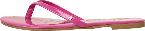 Sam Edelman  Oliver,  Damen Pantoletten , rosa - Hot Pink Patent - Größe: 38 EU M