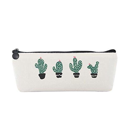 Evilandat Kaktus Muster Bleistift Tasche Federmappchen