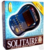 Solitaire Lite Handheld Game by Radica Games