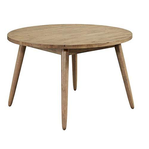 Progressive Furniture D838-15 Barcelona Dining Table, Beige