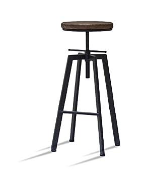 Artedecoeu Lot De 4 Tabourets De Bar Réglable Yako 1 Design Luxe
