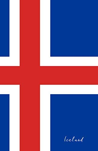 Iceland: Flag Notebook, Travel Journal to write in, College Ruled Journey Diary...