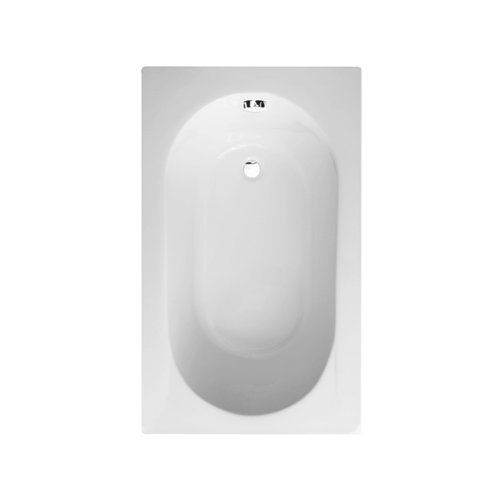 Perfect Single Ended Straight Bathtub   White 5mm Thick Acrylic Compact Small  Bathroom Tub Modern Luxury Spacesaver