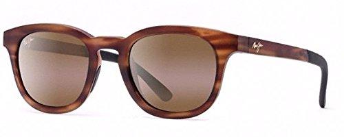 Maui Jim Koko Head Sunglasses (737) Tortoise Matte/Bronze Plastic,Nylon - Polarized - - Maui Tortoise Jim
