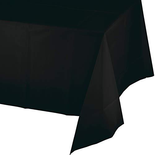 Black Plastic Tablecloths, 3 -