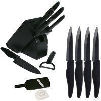 coffret couteau ceramique noir de luxe 6 couteaux de cuisine4 couteaux a - Coffret Couteau Ceramique