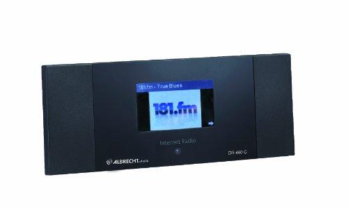 Albrecht DR460-C Internet-Radio mit Colordisplay/Wecker schwarz