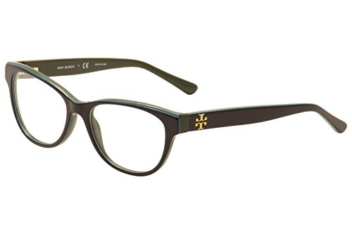 Tory Burch TY2065 Eyeglass Frames 1598-53 - - Burch Tory Turquoise