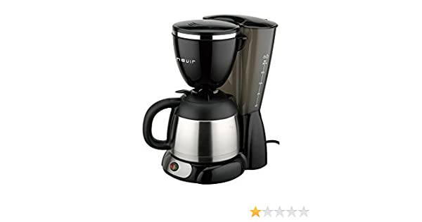 Nevir NVR 1130TCM Cafetera goteo, 12 tazas, termo: Amazon.es: Hogar