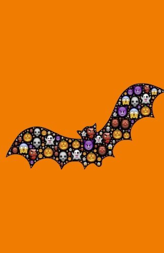 Bat Notebook: Halloween Emoji, Drawing Journal or Daily Diary, for Adults, Teens or Kids, Blank Pages, Softcover (Elite Journal) (Halloween Coloring Pages Bats)