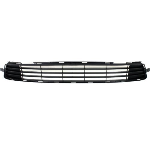KEYSTONE 5311202280 TO1036125 Black Plastic Front Bumper Grille for Toyota Corolla Sedan