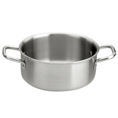 Paderno World Cuisine Triple Ply Stainless Steel Sauce Pot, 5 Quart