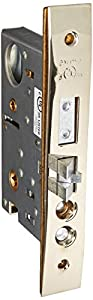 Baldwin 6375.RLS Right Handed Lever Strength Entrance, Emergency Egress Mortise, Lifetime Polished Nickel