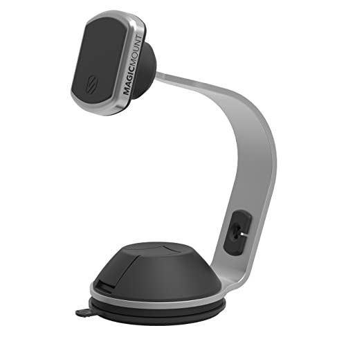 SCOSCHE magicMOUNT PRO Office/Home- Low Profile Magnetic Mount with Interchangeable Trims