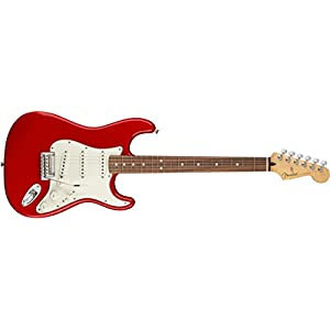 Player Stratocaster PF Sonic Red