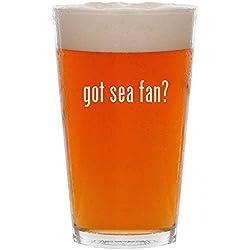 got sea fan? - 16oz Pint Beer Glass