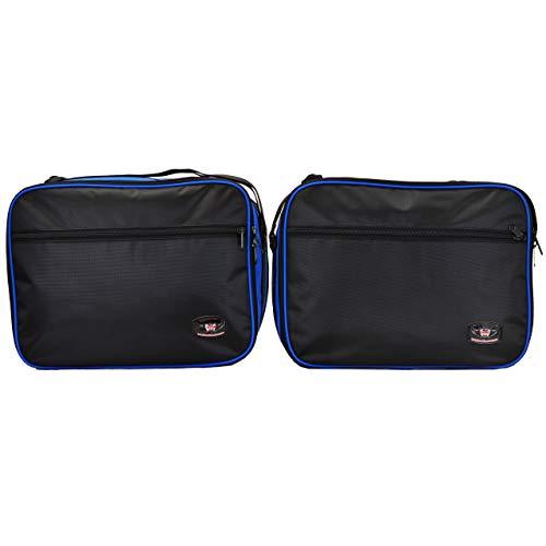 GREAT BIKERS GEAR – Packtaschen für BMW R1200GS Vario Packtaschen Innentaschen Erweiterbare Blaue und Schwarze…