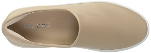 J Slides Women's Champagne Sneaker Abba Fashion r7OUqr