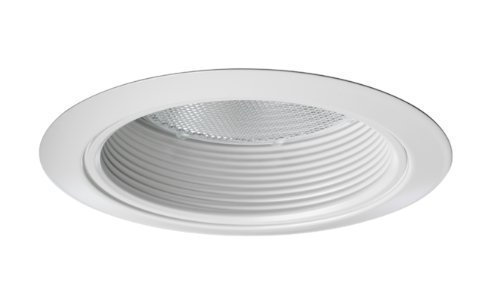 Juno Lighting 275W-WH 5-Inch Downlight Shallow Baffle White with White Trim by Juno Lighting Group (Shallow Baffle)