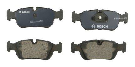 Bosch BP558 QuietCast Premium Semi-Metallic Disc Brake Pad Set For Select BMW 318i, 318is, 318ti, 320i, 323Ci, 323i, 323is, 323ti, 325i, 325is, 328Ci, 328i, 328is, 525i, Z3; Front
