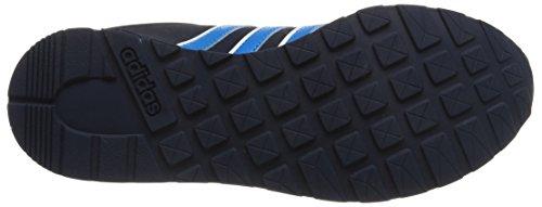 adidas V JOG K - Zapatillas para niño Azul marino / Azul / Blanco
