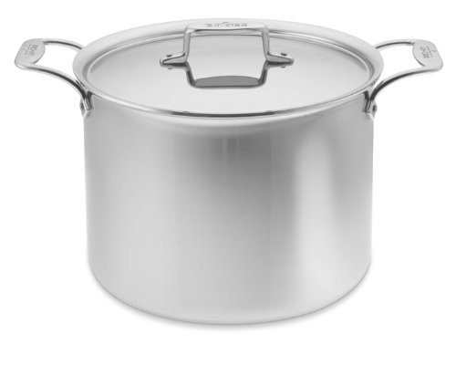 All-Clad d5 Stainless-Steel Stock Pot, 12-Qt